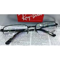 Armação Óculos De Grau Rb8666 Unissex Várias Cores C/ Case