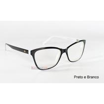 Armação Oculos Grau Ana Hickman Ah6197 Lançamento Barato
