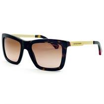 Óculos De Sol Emporio Armani Feminino Acetato Marrom