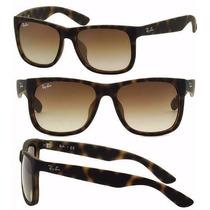Óculos De Sol Rayban Just Mod Tartaruga Promoção Polarizado