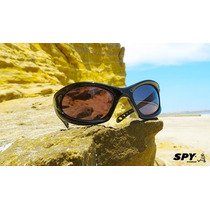 Óculos De Sol Spy - Original - Mod Shadow 43 - Preto Brilho