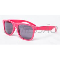 Óculos De Sol Colorido Estilo Wayfarer Geek Nerd Uv400