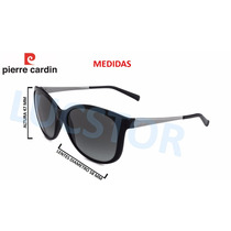 Oculos De Sol Pierre Cardin P7 4107 57 C580 Acetato Feminino