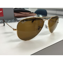 Oculos Ray Ban Rb 3025 Aviator Large Metal 001/33 55 Origina