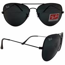 Óculos Rayban Raiban Aviador Vários Modelos Lentes Cristal