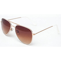 Óculos Feminino De Sol Estilo Aviador Uv400 Frete Grátis