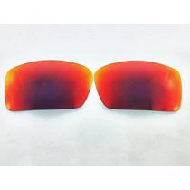 Lente Para Oculos Oakley Gascan Dark Ruby