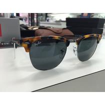 Oculos Solar Ray Ban Rb 3016 Club Master 1158/r5 Original