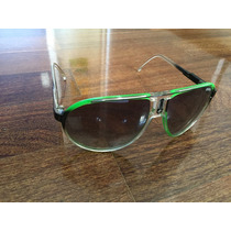 Óculos Carrera Champion Original Verde E Transparente .