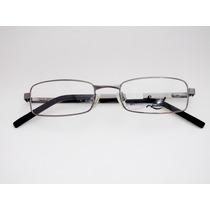 Armação De Óculos Smart Grafite Retangular - Rostos Pequenos
