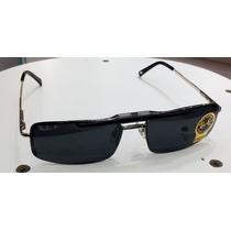Armação Oculos De Grau E Sol Rb8569 Clip On Polarizado Prata