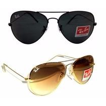 Óculos Ray Ban Aviador 3025 3026# +frete Mais Barato