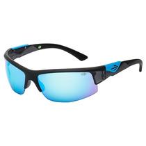 Óculos Solar Sol Mormaii Wave Preto Espelhado Azul