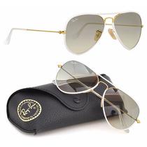 Oculos Rayban Aviador 3025/26 Full Colors Oferta + Brinde