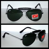 Óculos Caçador 3422q Preto Lentes Verdes M 58mm Original