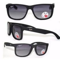 Oculos De Sol Ray Ban Rayban Justin 4165 Frete Gratis