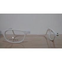 Armação Óculos Click Ima P/ Colocar Grau Magnético Branco
