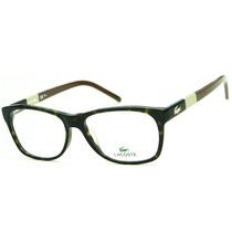 Armação Para Óculos De Grau Lacoste L2691 Retrô Feminina