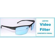 Óculos Para Computador Com Filtro Lentes Azul