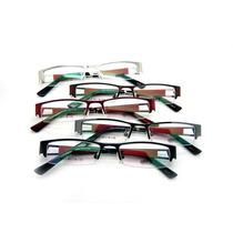 Armação De Óculos Feminina Para Grau Marca Levis - Metal