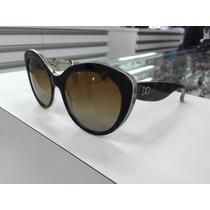 Oculos Dolce Gabbana Polarizado Dg4236 2841/t5 Made Italy