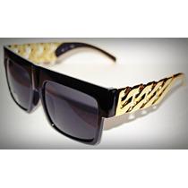Oculos Celine Gold Chain - Famosos - Lentes Polarizadas Novo