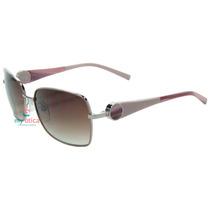 Óculos De Sol Ana Hickmann Ah3095 Prata Original Com Nfe