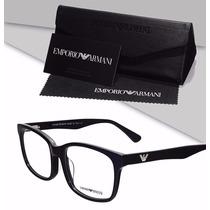 Armação Emporio Armani Oculos P/ Grau Acetato Importado