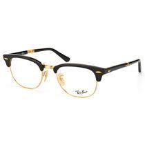 Óculos De Grau Ray Ban Clubmaster Dobrável Rb5334 2000