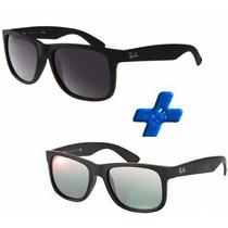 Oculos Rb Justin Promoção Pague 1 Leve 2