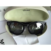 Óculos De Sol Celine Cl 41061f/s Armação Preta.