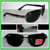 Óculos De Sol Rb3390, Grafite Lentes Escuras