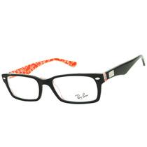 Armação Ray Ban Rb5206 Para Óculos De Grau Feminino Original
