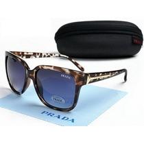 Oculos De Sol Pra.da Tortoise Premium- Frete Grátis