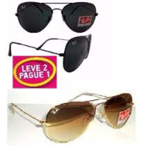 Óculos De Sol Illesteva Pague + Aviador Ray Ban N O V O