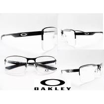 Armação Oakley Grau Feminino Masculino Barato + Brinde