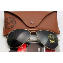 Óculos De Sol Rayban Ray Ban Aviador Original Rb3025 Rb3026
