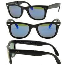 Oculos Rayban 4105 Wayfarer Dobra Espelhado Mega Oferta 50%