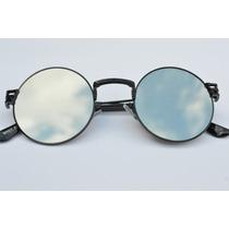Óculos Espelhado Céu Famoso Metal Barato Lindo Versatil C77
