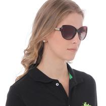 Óculos De Sol Feminino Rainbow Marrom - Club Polo Collection