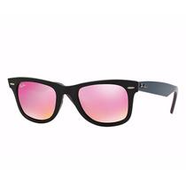 Óculos De Sol Rayban Original Wayfarer Bicolor Rb2140 54-18