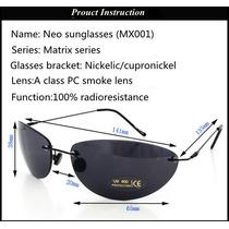 Óculos De Sol Estilo Matrix Modelo Neo Frete Grátis