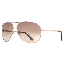 Óculos De Sol Dourado Tom Ford Tf 35 Charles 772