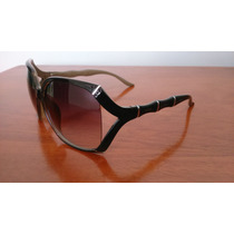 Óculos De Sol Gucci Gg3508/s Bamboo Black Pronta Entrega