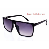 Óculos De Sol Da Moda Quadrado Griff Cranio Black