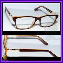 Óculos De Grau, Armação, Cor Marrom E Laranja Chanel 3356