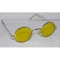 Óculos Night Drive Armação Estilo John Lennon Redonda