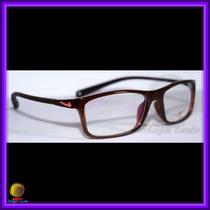 Óculos De Grau, Armação, Cor Marrom, Ref.: 8210