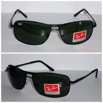 Óculos Masculino Rb 8013 Lente Cristal +capa Frete Grátis