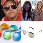 Óculos Escuros De Sol Aviador Espelhado - Vários Modelos